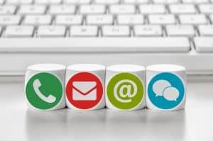 Gründerbaum mit neuen Kommunikationskanälen - Whatsapp und Chat